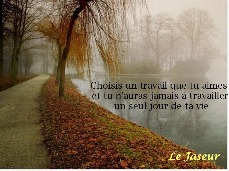 Le Jaseur et la vie